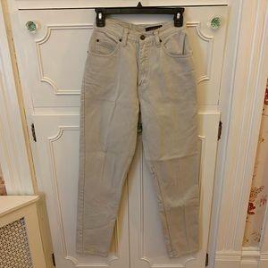 Eddie Bower High Rise Khaki Pants